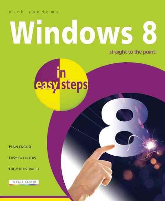 Windows 8 in Easy Steps By Vandome, Nick